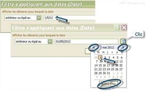 Tableau croisé dynamique   Filtrer des dates