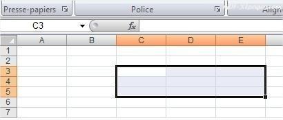 Excel Premiers pas: Sélectionner plusieurs cellules