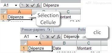Excel Modifier une cellule