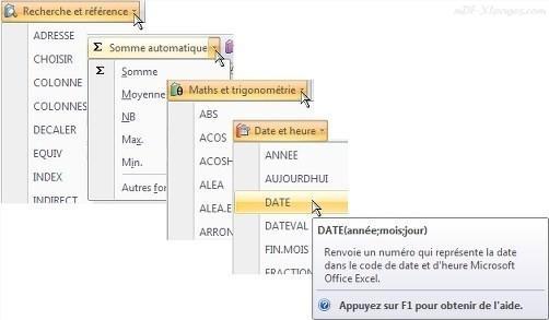 Excel Rechercher une fonction