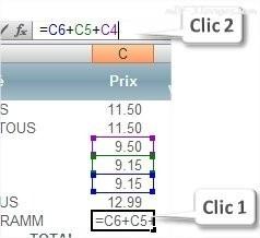 Excel contrôler une formule