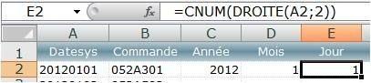 Excel imbriquer plusieurs fonctions