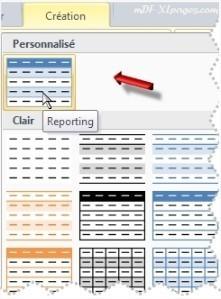 Excel Dupliquer un Style de Tableau pour le modifier