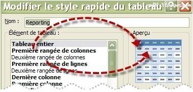 Tableau Excel Alterner les couleurs des colonnes
