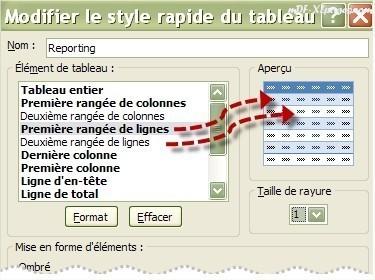 Tableau Excel Alterner les couleurs des lignes
