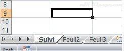 Excel Modifier le nom d'une feuille