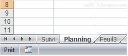 Excel Renommer une feuille