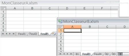 Excel copier une feuille