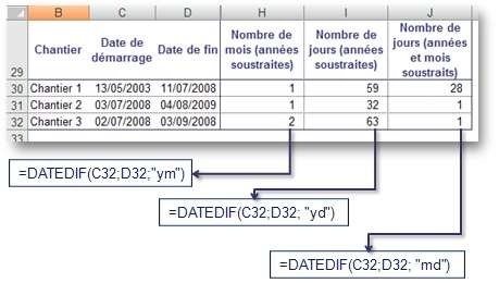 Datedif 2