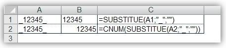 Fonction SUBSTITUE() 2